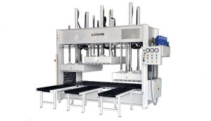 PRESSES WITH MOBILE PLATEN SPLITTED