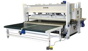 CROSSWISE THROUGH-FEED PRESS LINES